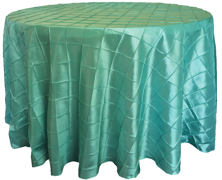 Seamless Round Tablecloth Pintuck Taffeta Table Cloth Wedding Tablecloths  Embroidery Tablecloths Dining Table Cover In Tablecloths From Home U0026 Garden  On ...