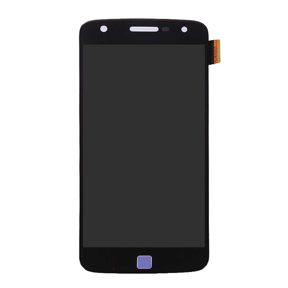 Для Motorola Moto Z play Droid дисплей XT1635-02 XT1635 ЖК дисплей сенсорный экран планшета Ассамблеи для Moto Z play