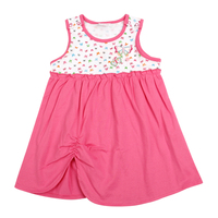 Summer Children Clothes Retail Sleeveless Causal Style Girl Dress Nova Kids 2015 Newest Design Hot Sale
