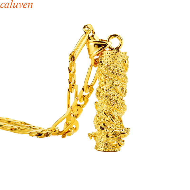 African Gold Dargon Pendant Necklaces For Women/Men Gold Color Africa Jewelry Eritrea Re ...