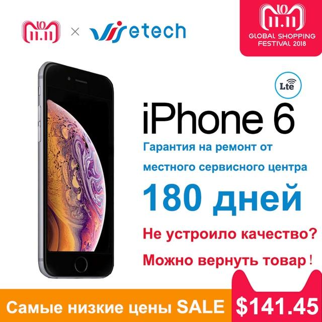 apple iPhone 6/айфон 6/iphone6 Dual Core IOS гарантия айфоны онлайн-обновления 4.7 'IPS 16/64 / 128GB 4G Используется подержанный алюминиевый сплав apple 6 online camera вторая сим для айфон айфон 4