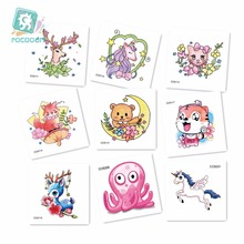 New Arrival 2018 Mini Unicorn Cat Horse Tattoo Design For Boys Girls Kids Waterproof Temporary Sticker Children.