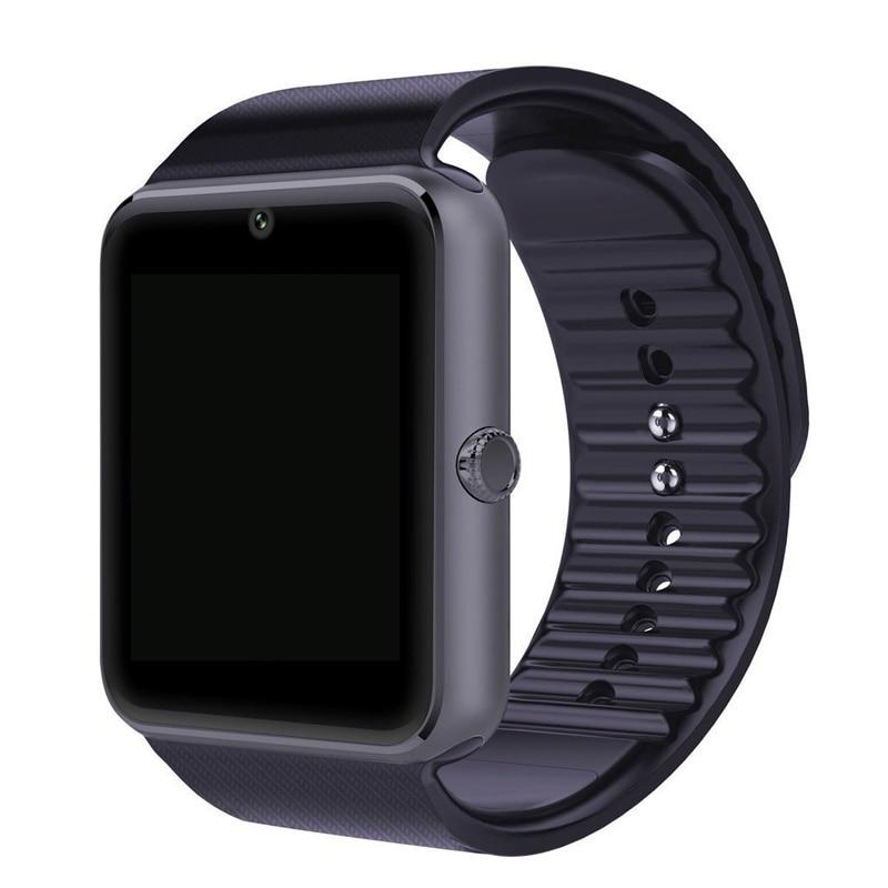 GT08 Bluetooth Smart Watch Phone Smartwatch Da Polso con Telecamera per apple Smartphone Android