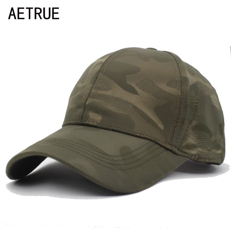AETRUE New Unisex Snapback Caps Men Baseball Cap Women Camo Casquette Bone Hats For Men Gorras Camouflage Army Baseball Hat Caps бейсболк мужские