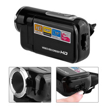 DV180 Camera Black 16MP Mini Video Camera With 1.5