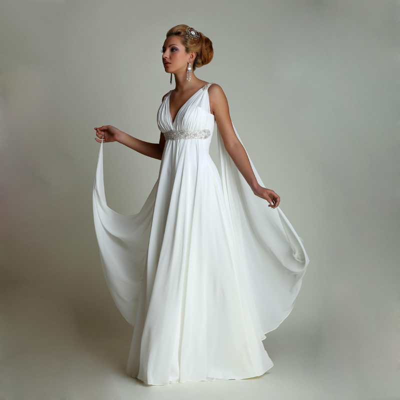 2015 chiffon beach wedding dresses middle east arabic for Cheap wedding dresses in dubai