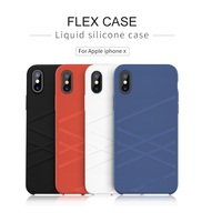 Case For IPhone X Cover Bumper Nillkin Soft Silicone Phone Protector Shell For Iphone X Slim