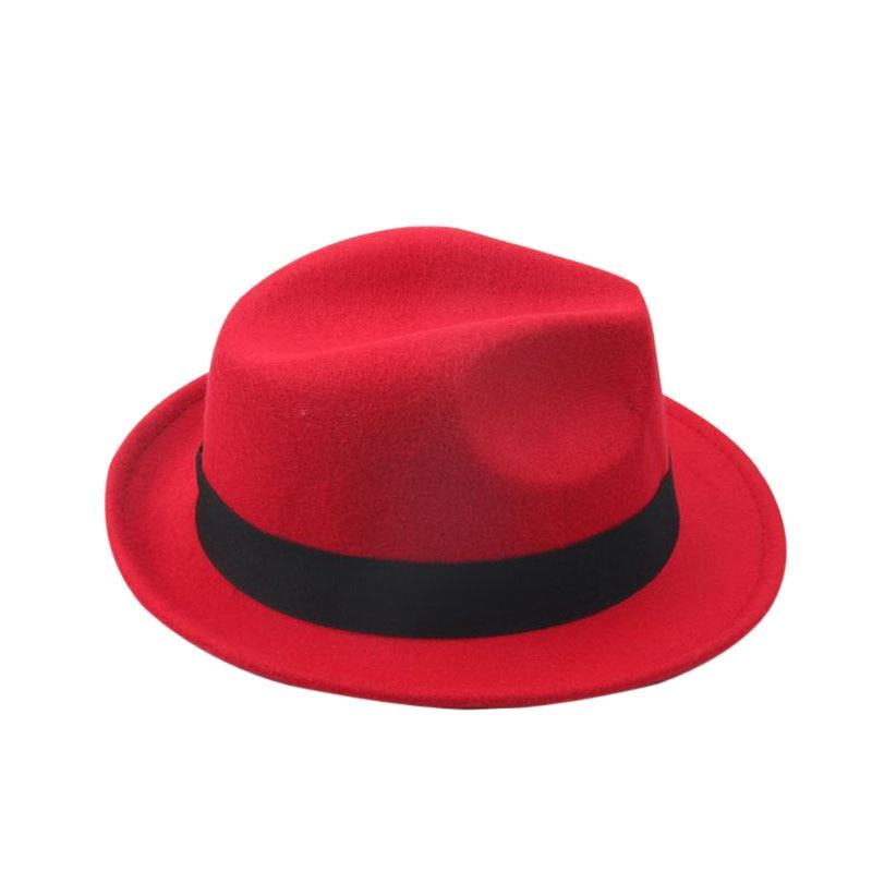 Anak-anak Wol Merasa Snap Topi Penuh Trilby Anak Laki-laki Vintage - Aksesori pakaian - Foto 3