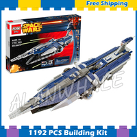 1192pcs New Space Wars The Malevolence 05072 Model Building Blocks Assemble Gifts Sets Boys Movie Games