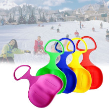 Спорт на открытом воздухе лыжный коврик Санки сноуборд для детей взрослых детей Зима утолщаются пластик Песок Трава сани снег Luge