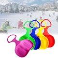 Уличные спортивные лыжные площадки  сани  сноуборд для детей  взрослых  детей  зимние утолщенные пластиковые сани с песком  снег  луж