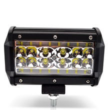 цена на Safego 84W LED Light Bar 4-row 5 Inch 6000K driving work lights spot beam for offroad truck car ATV SUV UAZ 4x4 4WD ramp IP67