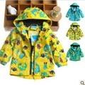 Topolino одежда для девочки осень зима дети ветрозащитный верхняя одежда мальчики дети кардиган длинная - рукав верхняя одежда 7M-2 лет
