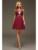 Nuevos Juniors corto vestidos fiesta A-line borgoña Sexy espalda abierta gasa moldeada 2016 High School vestidos coctel del partido con la correa