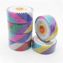Pinos coloridos de pérola/3 rolos, pinos localizadores de patchwork, pinos de costura, agulha de posicionamento, acessório de vestuário, faça você mesmo, feito à mão, 120 peças/3 rolos faça você
