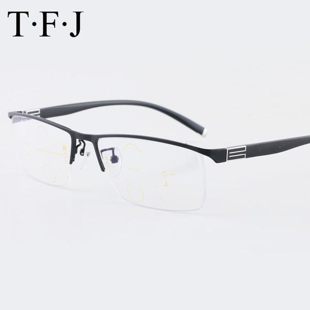 5d55e68e6b Ultra light Progressive Multifocal Reading Glasses Men Adjustable Vision  Anti Blue Light Blocking Presbyopic Glasses For sight-in Reading Glasses  from ...