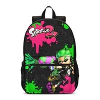 VEEVANV 2019 Splatoon 2 New 3D Printing Girls Backpacks Large Loptop Shoulder Bags Casual Boys Daypacks Fashion Girls Bookbag