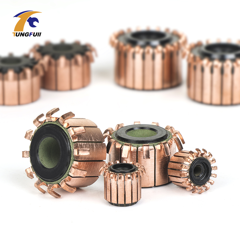 Copper Bars Alternator Electric Motor Commutator Copper Tone Dremel Tools Commutator For Mini Drill On Armature Commutat