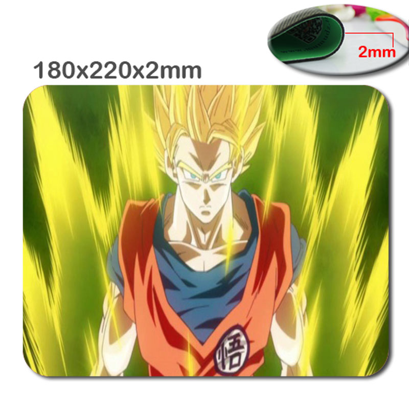 Mairuige Top Selling High Quality Custom Gaming mouse laptop dragon ball Z Rubber mouse mat notbook anime game players mouse pad