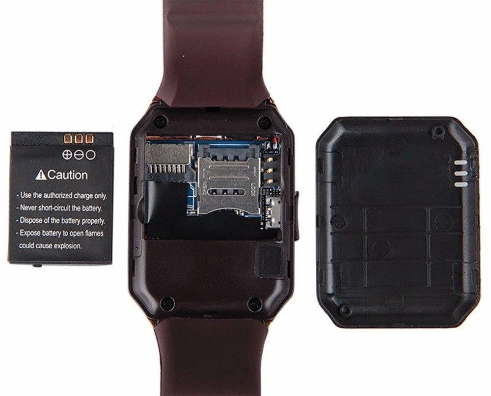 2018 TOP Bluetooth Inteligentne zegarki DZ09 Smartwatch dla Androida - Męskie zegarki - Zdjęcie 6