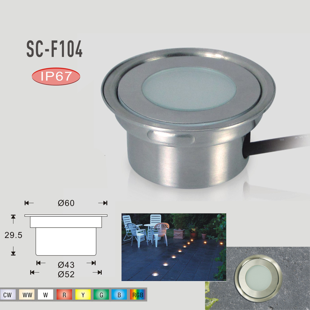 Low Voltage Stainless Steel LED Ground Lights 0.5W Waterproof Patio Pavers Light Recessed Floor Lighting for Garden-in Underground L&s from Lights ...  sc 1 st  AliExpress.com & Low Voltage Stainless Steel LED Ground Lights 0.5W Waterproof ... azcodes.com