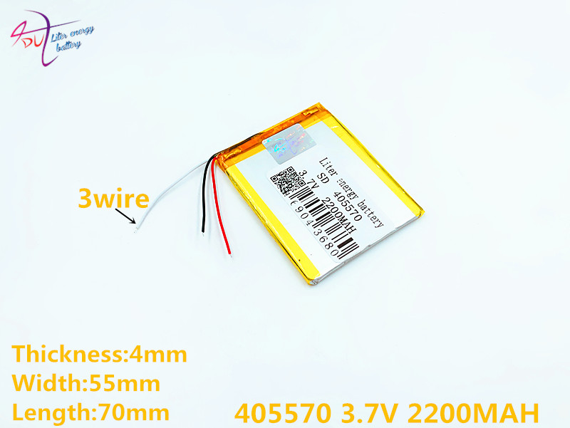 Billiger Preis 3 Linie Größe 405570 3,7 V 385569 2200 Mah 405568 Lithium-polymer-batterie Mit Schutz Bord Für Gps Tablet Pc Digitale Produkte Unterhaltungselektronik Digital Batterien