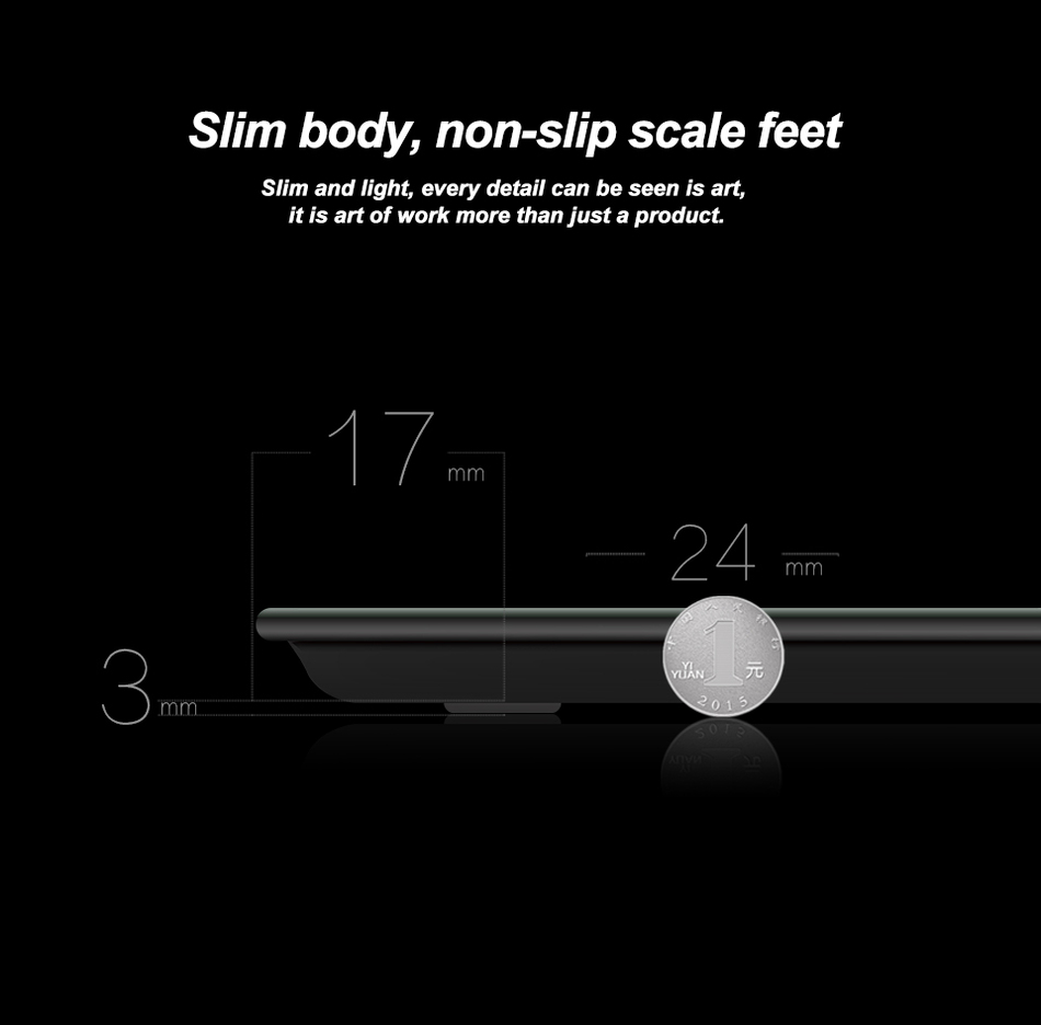 Hot Sale A2 Bathroom floor scales smart household electronic digital Body bariatric LCD display Division value 180kg=400lb/0.1