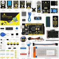 Keyestudio 슈퍼 스타터 키트/학습 키트 스타터 키트 Mega2560R3/LCD1602/RFID/릴레이/DS3231 + PDF + 32 Projets 및 줄기