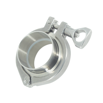 1 Set Sanitary Coupling with 2* 25mm 1 OD Sanitary Weld Ferrule + 1*Tri Clamp + 1*PTFE Gasket Stainless Steel SUS SS304 1 25mm ss304 stainless steel sanitary tri clamp butterfly valve brew beer dairy product