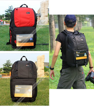 "Nuevo popular lowepro fastpack 350 camera bag mochila 17 ""bolsa de ordenador portátil mochila mochila para canon nikon"