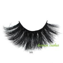 HEXUAN 25mm 5D Mink lashes False Eyelashes Natural Fake Makeup Lashes Extension Eyelash