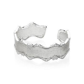 New Design 925 Sterling Silver Bracelets Charms Adjustable Size Bangles Bracelets for Women