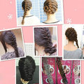 French hair braiding tool roller with hook Magic hair Twist Styling Bun maker LI02