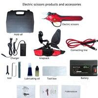 1 шт. SCA1 Электрический секаторами (полный набор инструментов ножницы в сад и садов) садовые инструменты