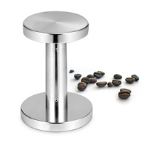 51mm/58mm Double Head 304 Stainless Steel Coffee Tamper Flat Base Coffee Hammer Espresso Coffee Filler Cafe Barista Tools