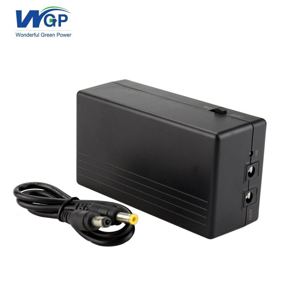 Nouveaux produits protection contre les courts-circuits 12 volts mini ups 6000mAh alimentation sans interruption avec batterie lithium-ion intégrée