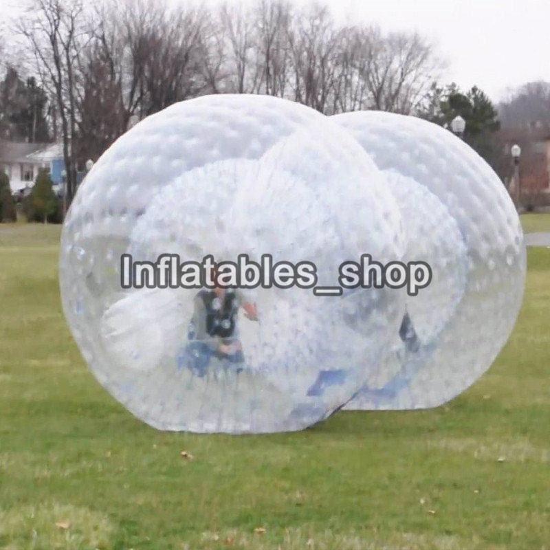 Kostenloser Versand Riesen Transparent Erwachsene Aufblasbare Zorb Kugel/Körper Zorb Ball Für Outdoor Gras Spiel 2,5 m Durchmesser-in Spielzeugkugeln aus Spielzeug und Hobbys bei  Gruppe 2