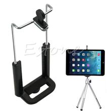 1/4 Screw Clip Bracket Mount Holder To Camera Tripod For IPad 8 Inch Tablet PC Stands Brand New Top Quality