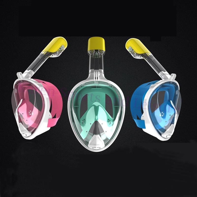 Hot Sale Diving Mask Full Face Snorkeling Mask Set Swimming Training Scuba Mask Anti Fog Diving Glasses for Water Sport super quality full face diving mask liquid silicone spearfishing mask snorkeling equipment scuba masks m246