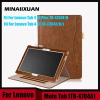 Case For Lenovo Tab 4 10 TB X304L TB X304F TB X304N PU Leather Case For
