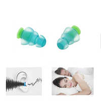 1 Pair Ear Plugs for Sleeping Silicone Noise Reduction Earplug Motorcycles Concerts DJ Reusable Music Filter Anti Noise Ear Plug