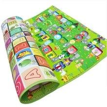 Speelkleed Baby Tapijt Kinderen Mat Tapijt Voor Kinderen Playmat Kruipen Mat Kinderen Tapijt Ontwikkelen Mat Baby Foam Play Mat game Pad