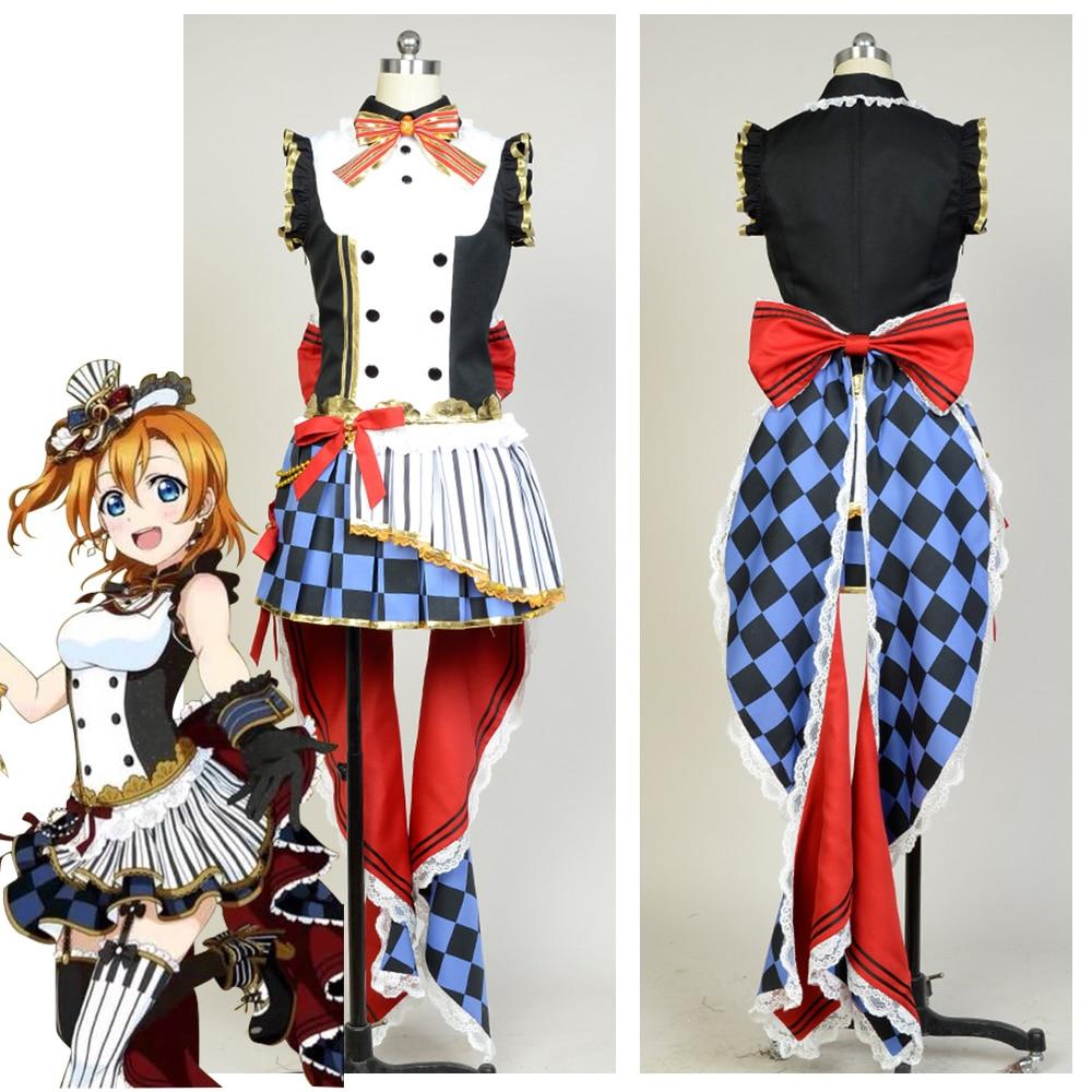 Здесь продается  LoveLive! Love Live Kousaka Honoka Meidofuku Awaken Cafe Maid Cosplay Costumes Uniform Dress  Одежда и аксессуары