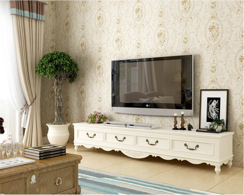 beibehang Classic full of rural retro floral wallpaper pastoral non - woven fabrics pure background wall papel de parede tapety beibehang papel de parede retro classic apple tree bird wallpaper bedroom living room background non woven pastoral wall paper