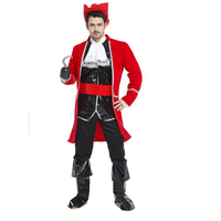 Halloween Cosplay Costume Stage Performance Costume Ball Luxury Pirate King