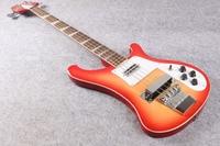 Rick 4003モデルリッケン4弦サンバーストカラーリアルフォトショーoemエレクトリックベースギターems送料無料
