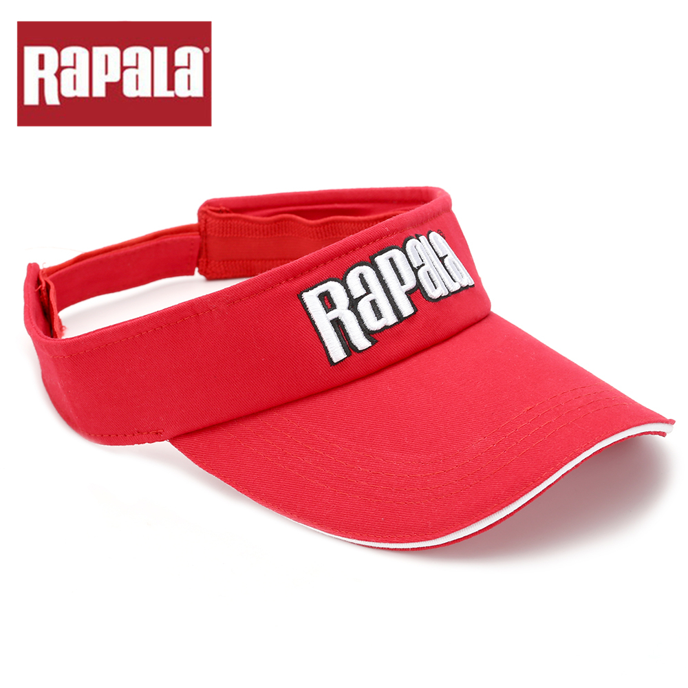 e06596e4cb104 Rapala Red color High quality Fishing Cap High quality Adjustable Washed  Cotton Baseball Golf Cap Outdoor