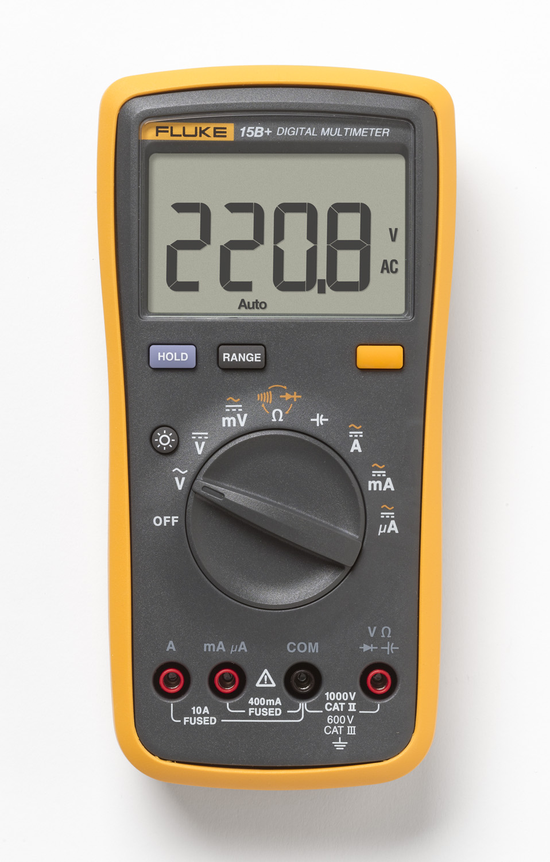 Original Fluke 15B+/17B+/18B+/12E+ Plus Auto Digital Range Multimeter DMM AC/DC/Diode/R/C Voltage Current Tester-in Multimeters from Tools    1