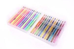 Image 3 - 24/36/48 Colors Gel Pens with Diamond Tip & Gel Pen Refills, Coloring Marker with Case,  (Glitter, Neon, Pastel, Metallic)
