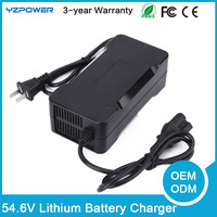 54 6V 2A 3A Lithium Ion Battery Charger Electric Bike Scooter Kids Car Ebike Universal Recharger
